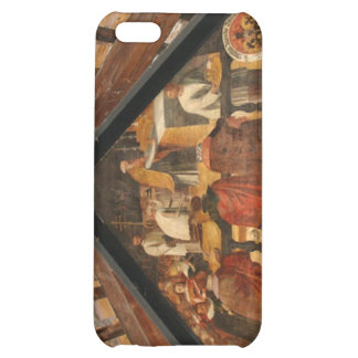 Painted panel from the wooden bridge Luzern iPhone 5C Cover