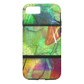 Painted Panes Abstract iPhone 7 Case
