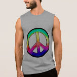 Painted pastel Peace Sign Tshirts