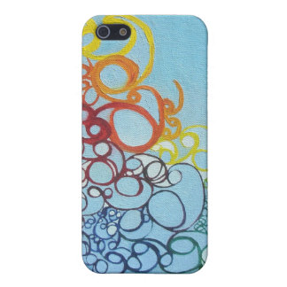 Painted Pattern iPhone Case Cover For iPhone 5