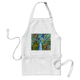 Painted Peacock Apron