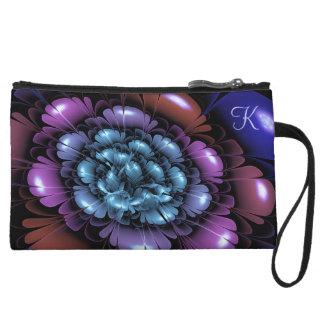 Painted Petals Personalized Wristlet Wallet