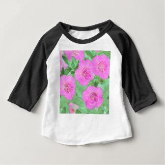 Painted Petunias Baby T-Shirt