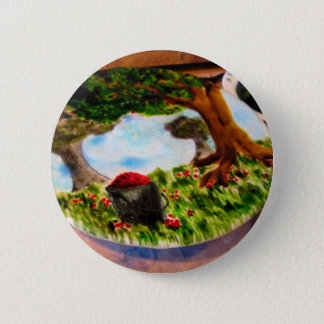 Painted Pie Button