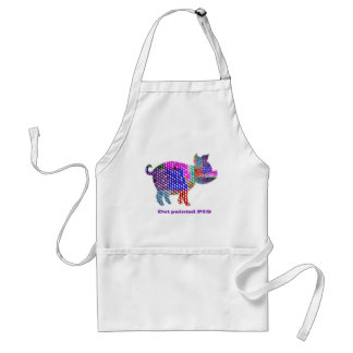 Painted PIG Apron