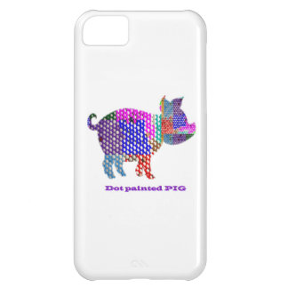 Painted PIG Case For iPhone 5C