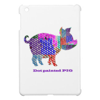 Painted PIG iPad Mini Cover