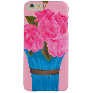 Painted Pink Roses-iPhone 6 Plus Case