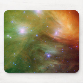 Painted Pleiades Mouse Pad