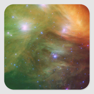 Painted Pleiades Square Sticker