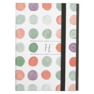 Painted Polka Dots iPad Case