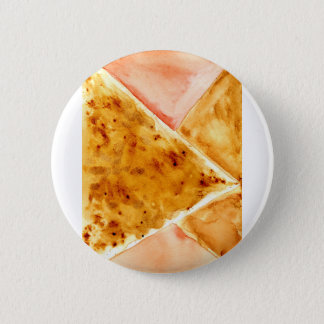 Painted Polygonal Background Pinback Button