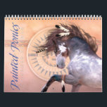 """Painted Ponies Calendar<br><div class=""""desc"""">Share the wild beauty and Native American spirit of these stunning horses with your friends and family! Featuring our most popular &quot;Painted Ponies&quot; artwork from 2007 through 2102. Artwork from this calendar also available on lots of other products!</div>"""