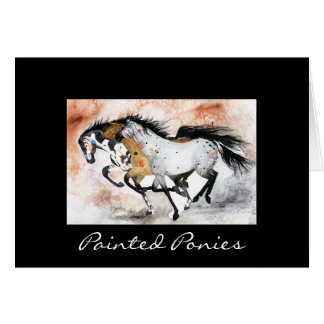 Painted Ponies Card