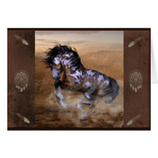 Painted Pony Card