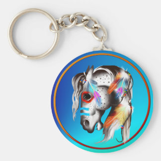 Painted Pony Keychain