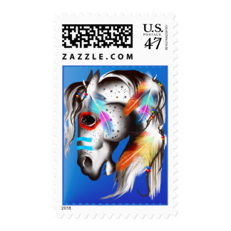 Painted Pony Postage