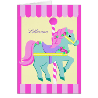 Painted Pony Thank You Stationery Note Card