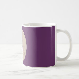 Painted Purple Iris Collage Mug