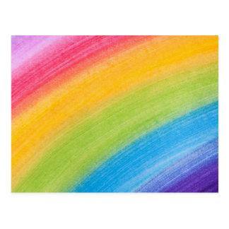 Painted Rainbow Postcard