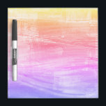 """Painted Rainbow Sea Colorful Dry Erase Board<br><div class=""""desc"""">At home, the office, or on your dorm door, this dry erase board is designed to add color and fun to your room and your day! As with most of our items, international shipping is available. If you&#39;re viewing this beyond Zazzle dot com, click the item to find out how...</div>"""