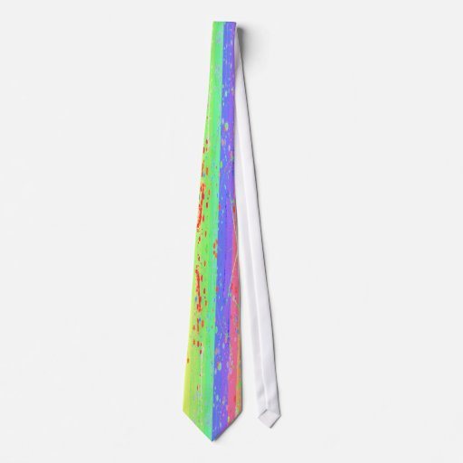 Painted Rainbow Tie Color 4