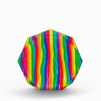 Painted Rainbows Acrylic Award