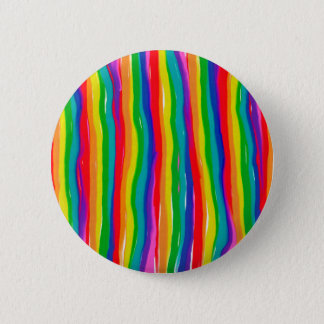 Painted Rainbows Button