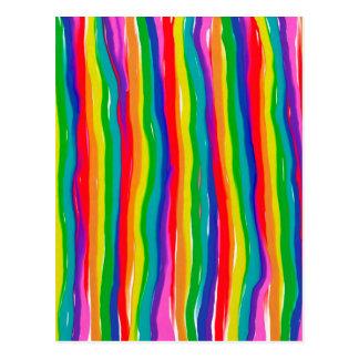 Painted Rainbows Postcard