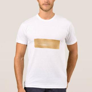 Painted Rectangle Golden Metallic Modern T-Shirt