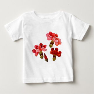 Painted Red & Pink Carnations Infant T-shirt