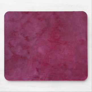 painted red wall mouse pad