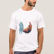 painted rooster T-Shirt