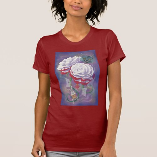 Painted Roses Wonderland T_Shirt