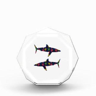 PAINTED SHARK fish danger kids navinJOSHI NVN99 Award