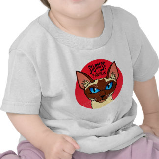 Painted Siamese Cartoon T Shirts