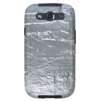 Painted Silver Samsung Galaxy SIII Cases