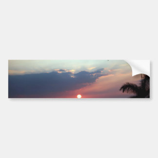 Painted Skies Sunset Photography Bumper Sticker