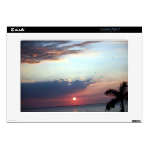 Painted Skies Sunset Photography Laptop Decal
