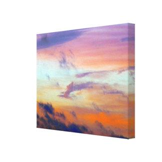 Painted Sky Canvas Canvas Print