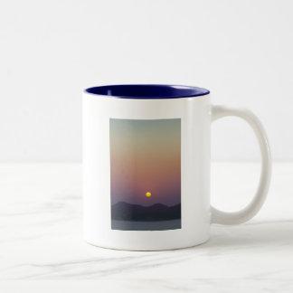 Painted Sky Two-Tone Coffee Mug