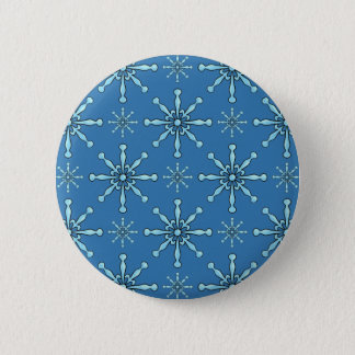 Painted Snowflakes Pinback Button