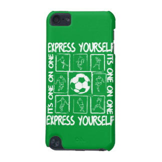 Painted soccer motivational iPod touch (5th generation) cover