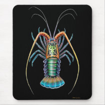 Painted Spiny Lobster Mousepad