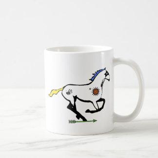 Painted Spirit-Horse Coffee Mug