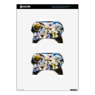 Painted Spring Blooming Bradford Pear Blossoms Xbox 360 Controller Decal