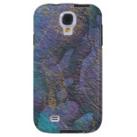 Painted Stone Colorful Abstract Galaxy S4 Case