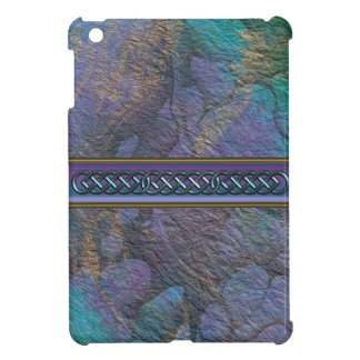 Painted Stone Colorful Abstract iPad Mini Cover