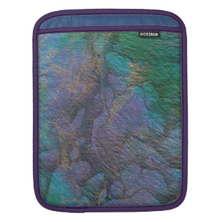 Painted Stone Colorful Abstract Sleeve For iPads