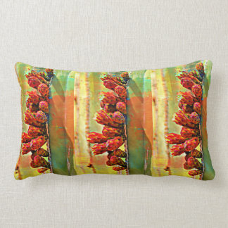 Painted Stove Pipe Bulbs Throw Pillow